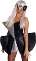 Lady Gaga Costume Black Sequin Dress S/Small